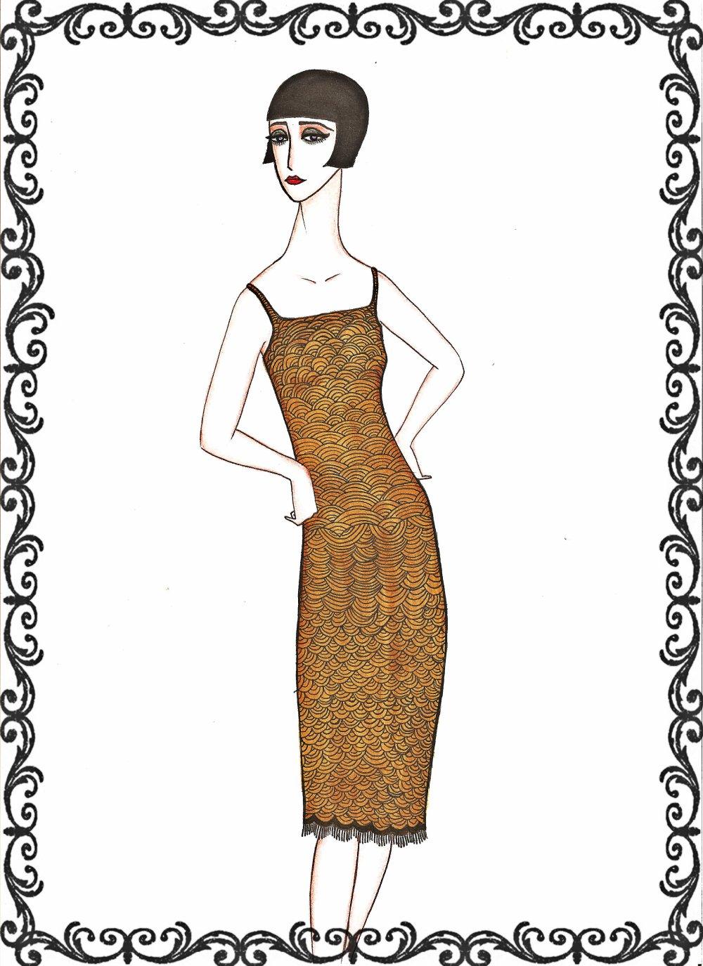 Gli anni della moda...illustrati da me -ANNI '20-
