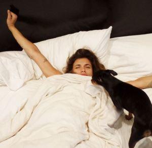 elisabetta canalis-wake up call