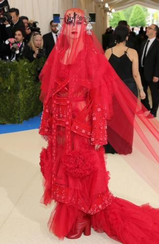 Katy Perry in Maison Margiela Couture